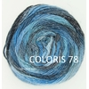 MILLE COLORI SOCKS AND LACE LUXE LANG YARNS COLORIS 78 (3) (Medium)