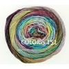 MILLE COLORI SOCKS AND LACE LUXE LANG YARNS COLORIS 151 (8) (Medium)
