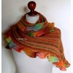 Kit tricot châle Agnès version Mille Colori Socks and Lace
