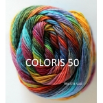 MILLE COLORI SOCKS AND LACE LANG YARNS COLORIS 50 (Large)