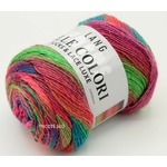 MILLE COLORI SOCKS AND LACE LUXE LANG YARNS COLORIS 50 (1) (Medium)