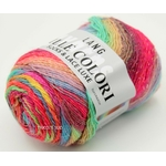 MILLE COLORI SOCKS AND LACE LUXE LANG YARNS COLORIS 51 (1) (Medium)