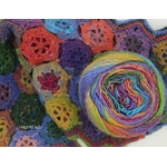MILLE COLORI SOCKS AND LACE LUXE LANG YARNS COLORIS 52 (4) (Medium)