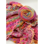 MILLE COLORI SOCKS AND LACE LUXE LANG YARNS COLORIS 53 (3) (Medium)