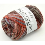 MILLE COLORI SOCKS AND LACE LUXE LANG YARNS COLORIS 63 (2) (Medium)