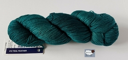MALABRIGO SOCK TEAL FEATHER (4) (Large)