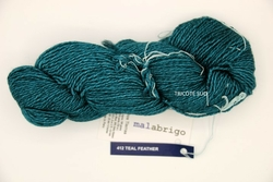 DOS TIERRAS MALABRIGO COLORIS TEAL FEATHER (Small)