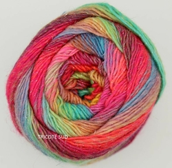 MILLE COLORI SOCKS AND LACE LUXE LANG YARNS COLORIS 51 (2) (Medium)