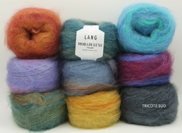 MOHAIR LUXE COLOR LANG YARNS (Medium)