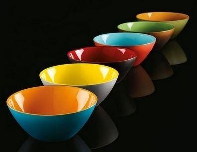 Saladier acrylique bicolore My Fusion, Guzzini