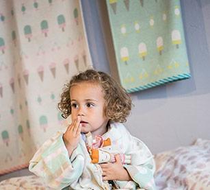kimono  robe de chambre enfant