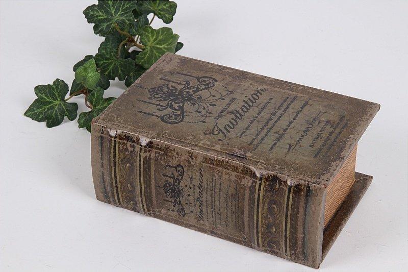 boite faux livre  boutique valbonne 117bis