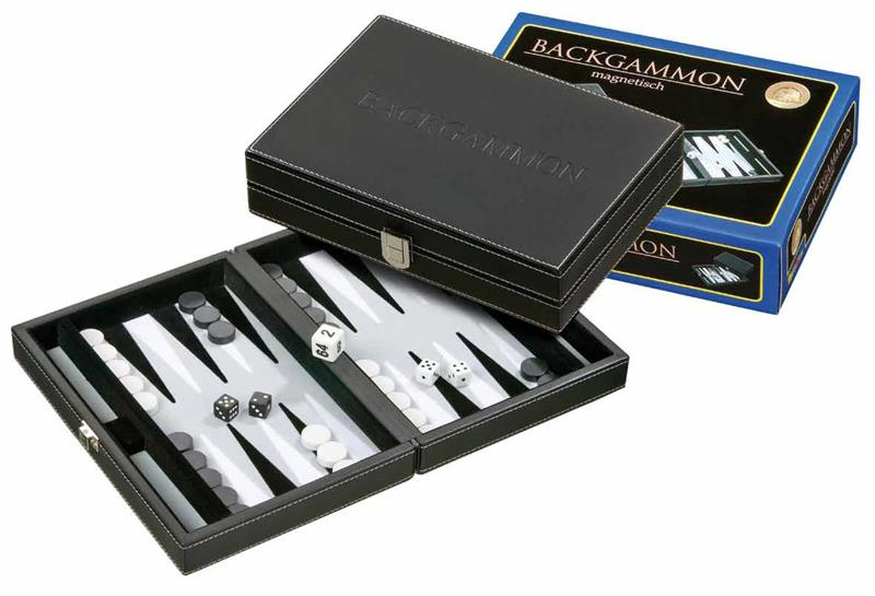 backgammon magnetique