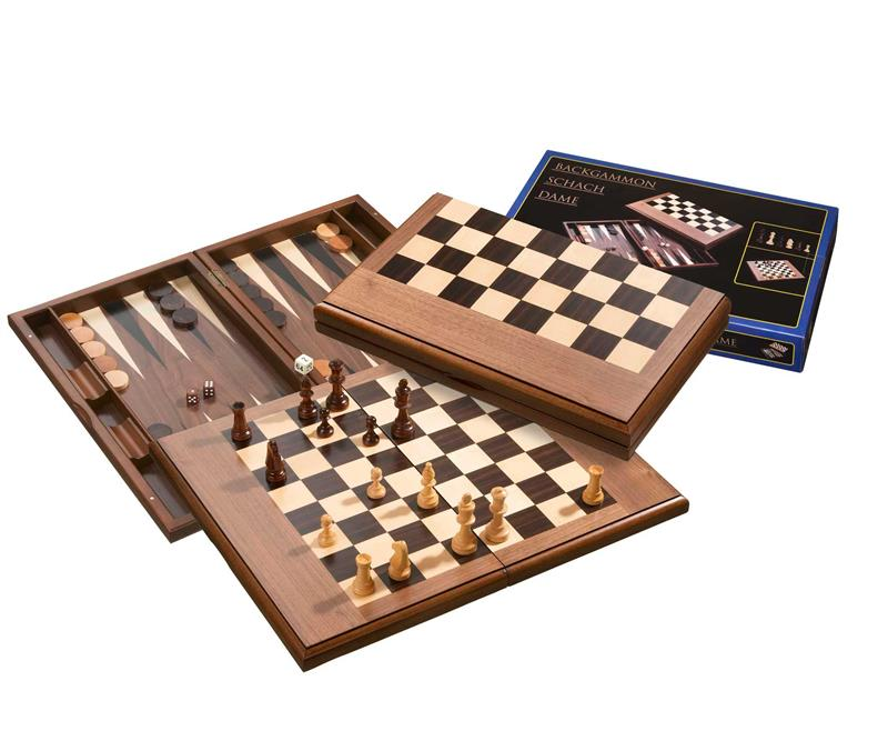 Backgammon - echecs- dames