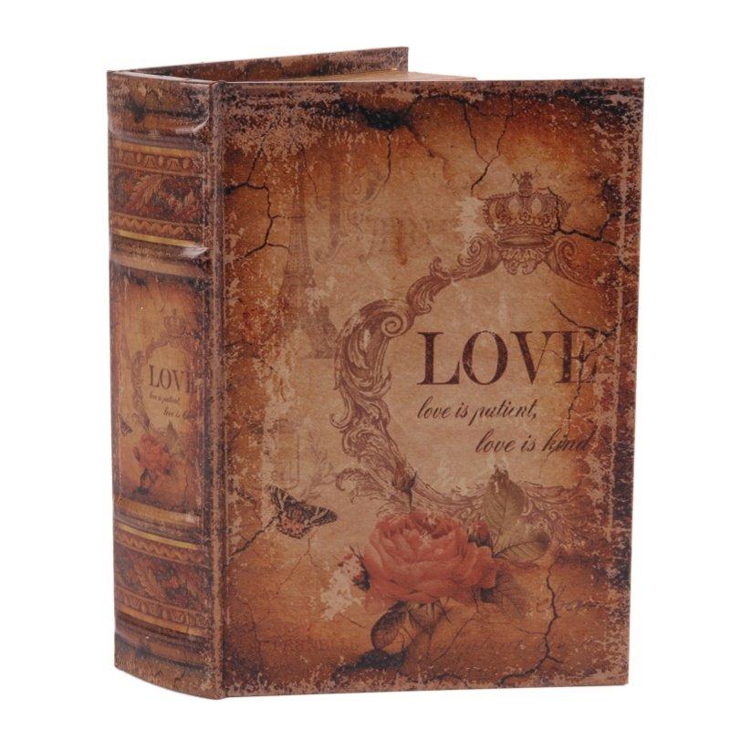 BOITE FAUX LIVRE 15 CM LOVE