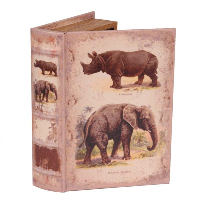boite faux livre boutique valbonne elephant