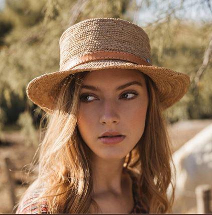 Chapeau en crochet bord court - RENOA