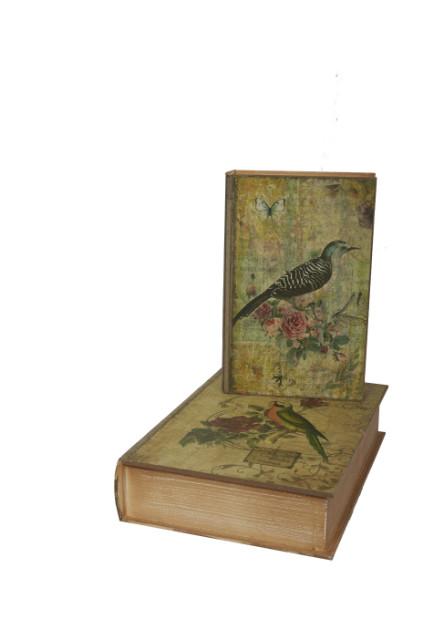 boite faux livre oiseau tous les articles id es cadeaux 06. Black Bedroom Furniture Sets. Home Design Ideas