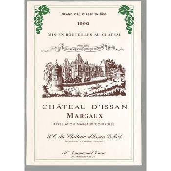 Torchon Margaux Chateau d\'Issan