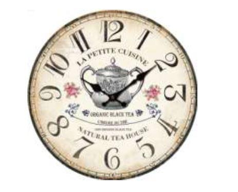 Horloge Moderne Cuisine Horloge Design Murale Verte