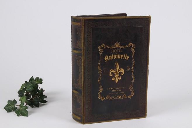 boite faux livre fleur de lys tous les articles id es cadeaux 06. Black Bedroom Furniture Sets. Home Design Ideas