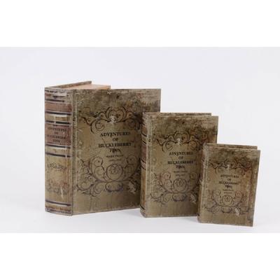 boites faux livres
