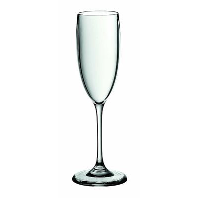 set 6 Flûtes à champagne acryliques 14 cl guzini
