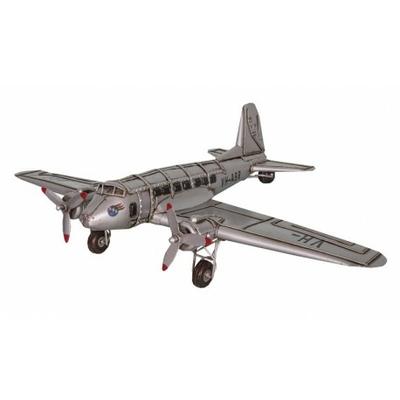 Avion déco en fer