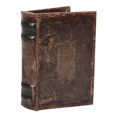 BOITE FAUX LIVRE HOLY BIBLE