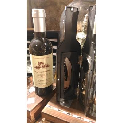 Set à vin sommelier bouteille