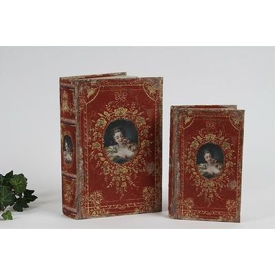 boite faux livres marquise objet d co faux livres id es cadeaux 06. Black Bedroom Furniture Sets. Home Design Ideas