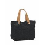 kento noir sac crochet en raphia boutique valbonne