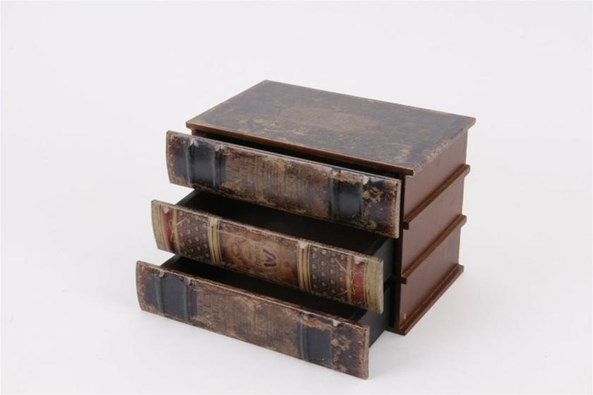 boite faux livres 3 tiroirs tous les articles id es cadeaux 06. Black Bedroom Furniture Sets. Home Design Ideas