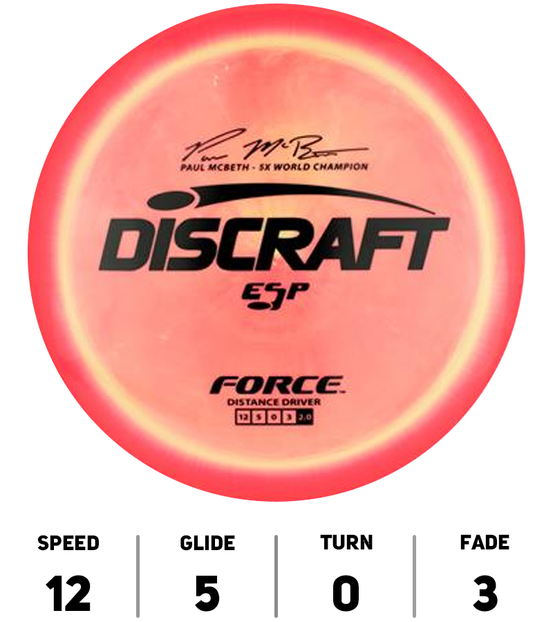 Discraft-Disque-DiscGolf-Force-ESP-Paul-McBeth