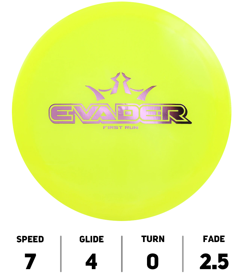 Dynamic-Discs-Disque-DiscGolf-Evader-Lucid-First-Run