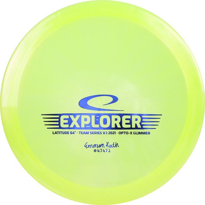 Latitude-64-DiscGolf-Explorer-Opto-Glimmer-Emerson-Keith-Yellow-Jaune