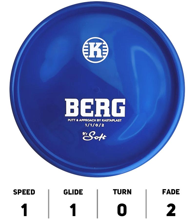 Berg Kastaplast - K1 Soft - Hole 19