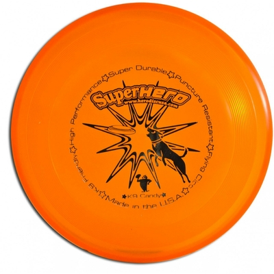 Super Hero Dog Disc