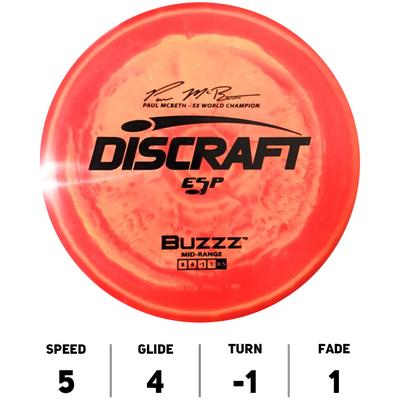 Buzzz ESP Paul McBeth