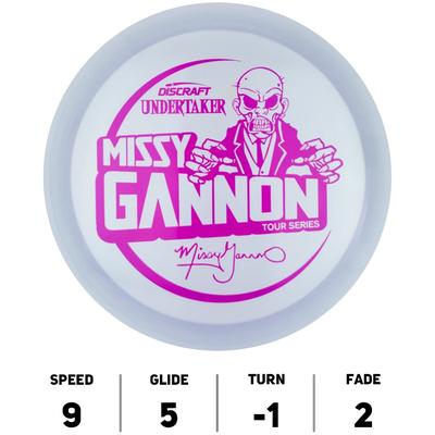 Undertaker Metallic Z Missy Gannon Tour Series 2021