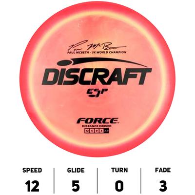 Force ESP Paul McBeth