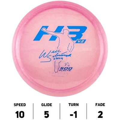 H3V2 500 Prodigy Disc Signature Series 2021 Will Schusterick