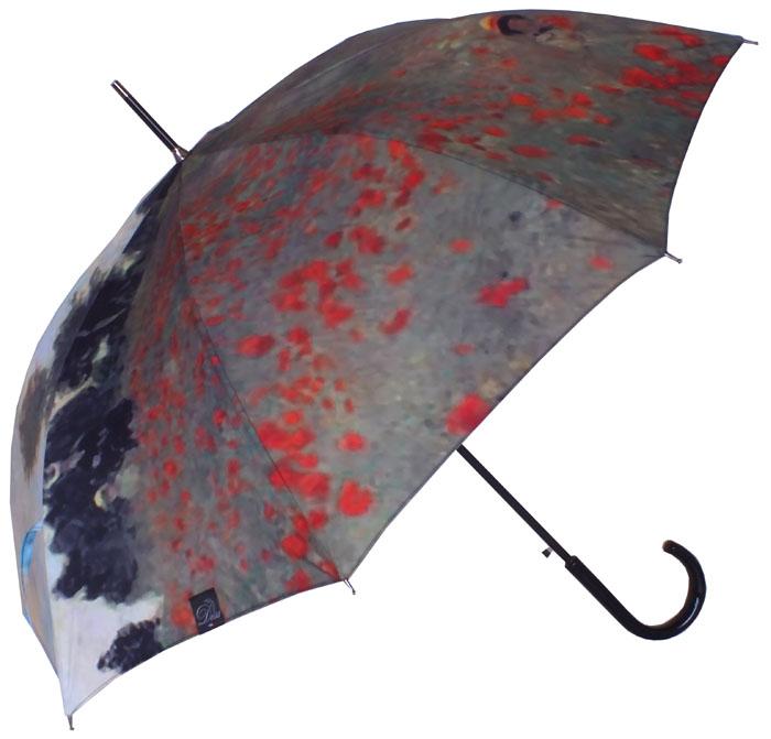 Parapluie Renoir Champs de coquelicots