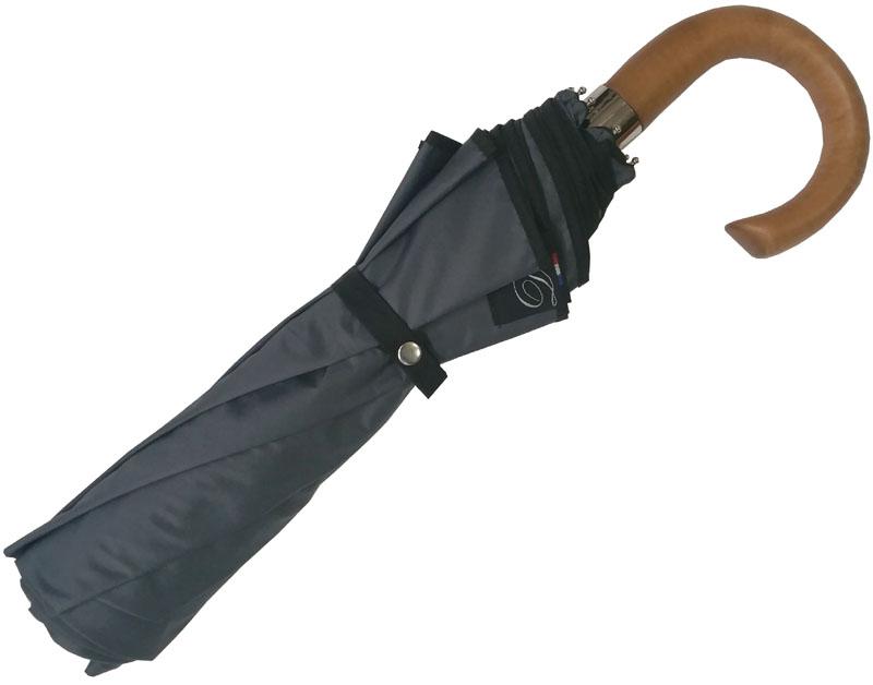 Parapluie pliant homme gris