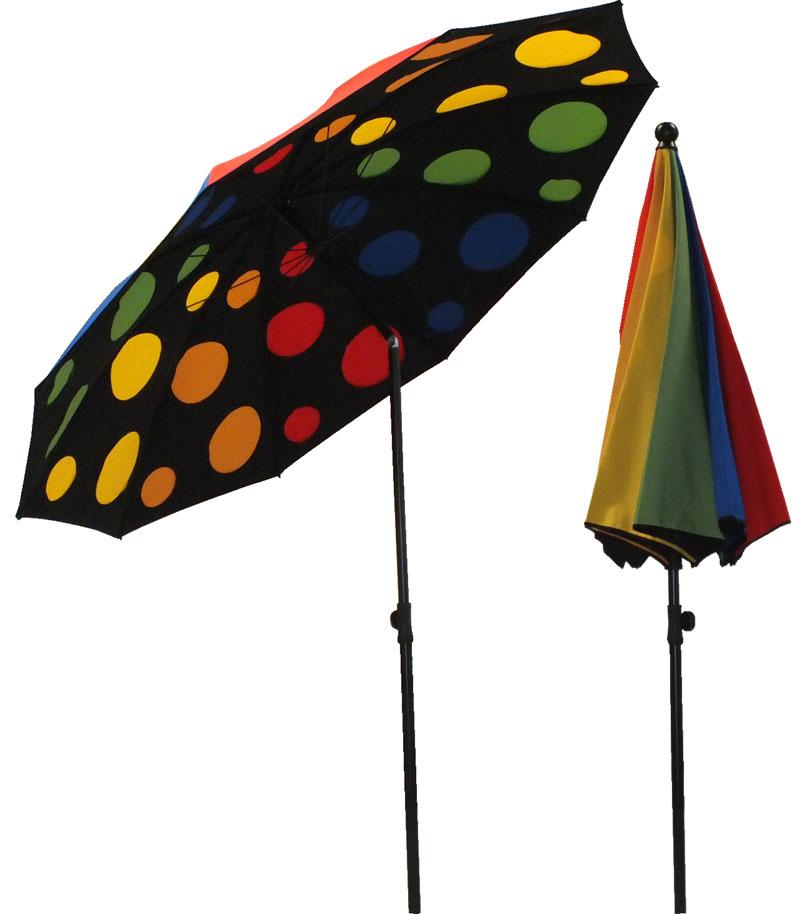 parasol rond Ø200 doublé DISCO
