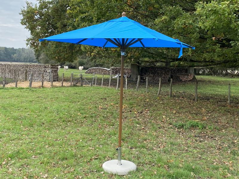 Parasol bois carré 2x2