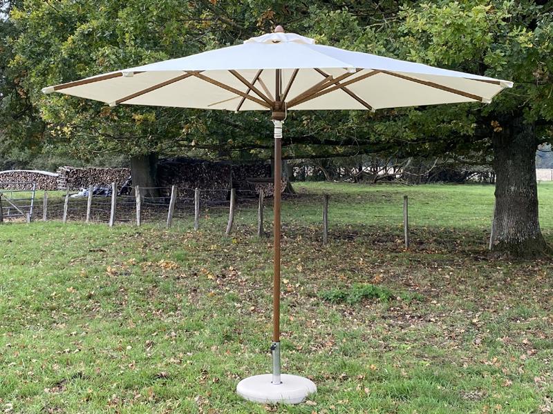 parasol bois Ø3.5m
