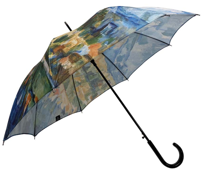 Parapluie long automatique Paul Cézanne Montagne Sainte Victoire