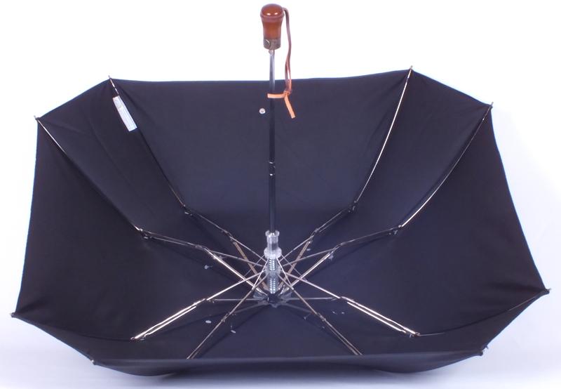parapluie pliant acier carr noir parapluies parapluie femme. Black Bedroom Furniture Sets. Home Design Ideas