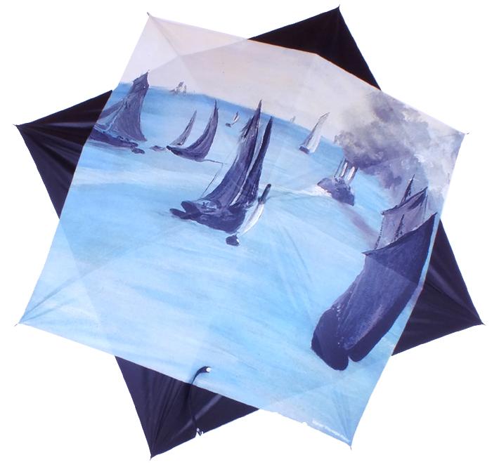 parapluie Manet paysage marin